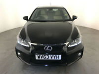 2013 63 LEXUS CT 200H LUXURY AUTOMATIC HYBRID 1 OWNER SERVICE HISTORY FINANCE PX
