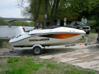Sea Doo Challenger trade for pontoon boat