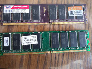 two ddr 512mb desktop memory for sell
