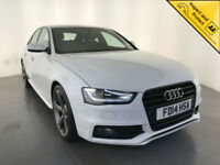 2014 AUDI A4 S LINE BLACK EDITION TDI DIESEL SALOON 1 OWNER SERVICE HISTORY