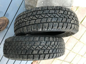 Toyota Yaris Snow tires...... bought them then sold the car????