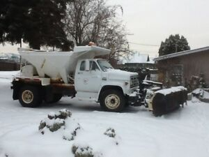 Retired Village of Chase Plow Truck