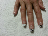 Gel application or Shellac Nails