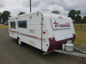 Jayco starcraft pop top 17ft caravan campervan camper