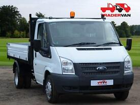 14 FORD TRANSIT 350 125ps Long Wheel Base Double Cab DROPSIDE DIESEL MANUAL