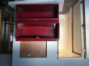 Snap-on top cabinets