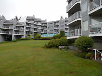 Departure Bay Spectacular Ocean View Condo for Rent