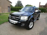 Ford Ranger 2.5TDCi ( 143PS ) 4x4 XLT Thunder Double Cab**4 new tyres***