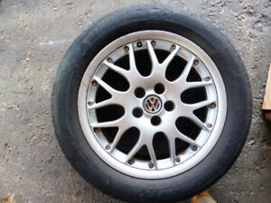 Set of 4 BBS wheels with tires