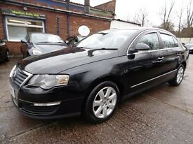 Volkswagen Passat 2.0 TDI SE 140PS (FULL HISTORY + 12 MONTH MOT + SUNROOF (black) 2005