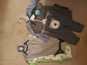 Baby body suits and pants