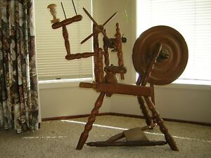 pre WWII spinning wheel