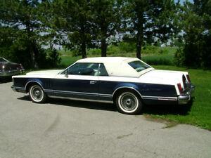 """1979 Lincoln Mark series, Bill Blass , Cartier ,California Cars"