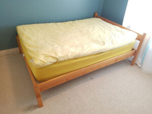 Double Mattress and Bed Set