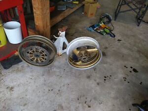 Set of rims from my Ducati 1000ss