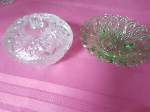 2 Candy dishes