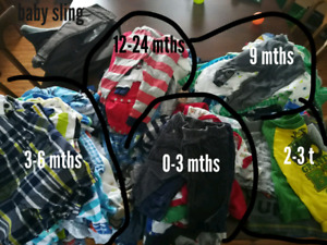 Baby boy clothing for sale