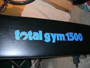 Banc d'exercice TOTAL Gym 1500