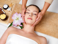 Special price facials and therapeutic massage