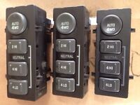 GM auto 4x4 selector switches