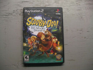 jeu ps2 scooby-doo!and the spooky swamp