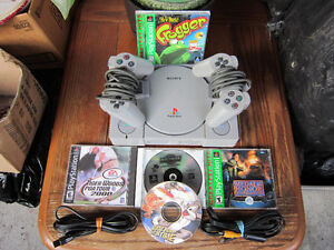 PS One Console With Games