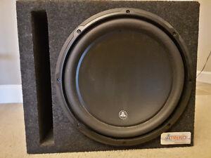 JL Audio Subwoofer & Alpine amp