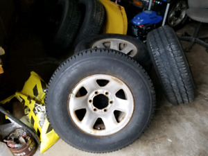 """15"""" rims and tires"""