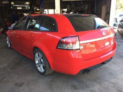 Wrecking VE SV6 Wagon llt Sidi Engine Holden Commodore Red