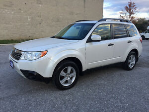2010 Subaru Forester Pzev/Clean Carproof/Certified and E-Tested