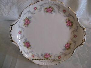 "Royal Albert Tranquility 10 1/2"" Cake Plate"