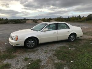 2002 Cadillac DeVille Sedan LOW KMS!