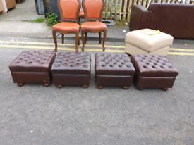 18. Original Chesterfield footstool from Galgorm