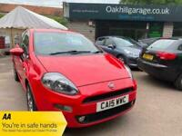 2015 Fiat Punto EASY 1.2 Bright red New M.O.T ( SOLD ) HATCHBACK Petrol Manual