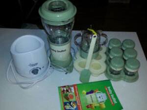 Baby Bullet Set and Tommee Tippee Bottle Warmer