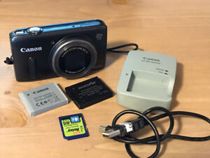 Canon PowerShot SX260 HS with flash