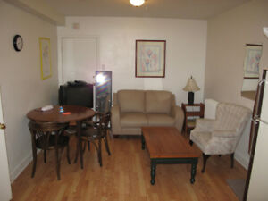 Furnished 1 Bedroom Apartment - Bathurst/Eglinton