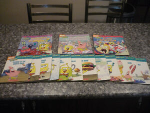 spongebob stories and phonics books