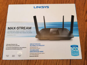 Linksys Max-Stream AC2600 MU-MIMO Gigabit Router IN BOX