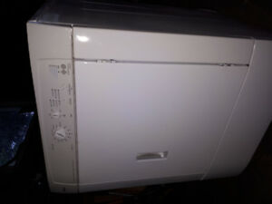 White electeic dryer