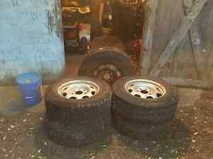 Used 7 bolt rims & tires