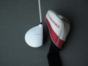 TaylorMade AeroBurner Driver + Headcover. Excellent Condition
