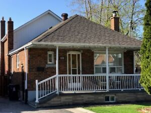 Gorgeous 3-bdrm home w/bsmnt apt, parking and laundry.