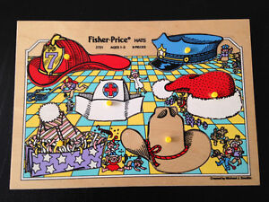 FISHER PRICE  WOODEN PUZZLE