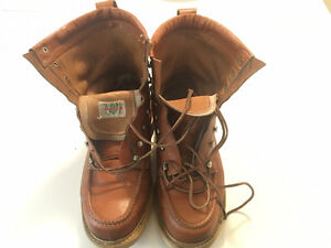 Matterhorn leather boots Moc 9 or 9.5