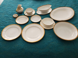 Limoges luncheon china set
