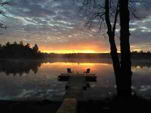 Cabin for rent on Ponhook Lake, $300 for three nights!! SEPT/OCT