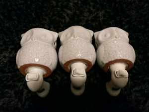 3 OWL WAX WARMERS **PRICE REDUCED**