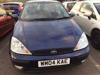 2004 Ford Focus Ghia 5drs 6 month mot £899