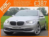 2009 BMW 5 Series 530d GT Turbo Diesel SE Auto Pan Roof Sat Nav Bluetooth Leathe